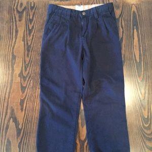 Boys J khakis navy blue size 6 regular.